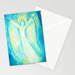 Melusina The Water Moon Goddess Stationery Cards