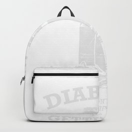 DIABETICS Getting High Type 1 2 Gift Backpack