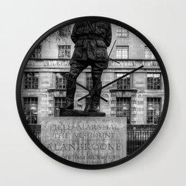 Field Marshal Alan Brooke Wall Clock