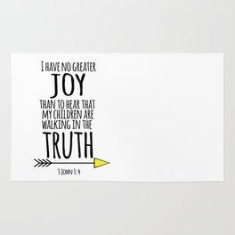 No greater joy Rug