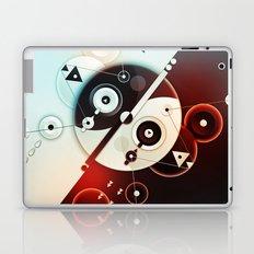 Ying-Yang Blue Version Laptop & iPad Skin