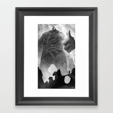 Zeus  Framed Art Print