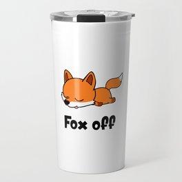 Fox off Travel Mug