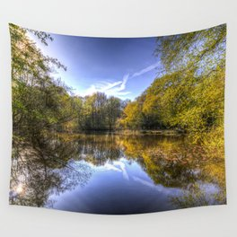 The Silent Pond Wall Tapestry