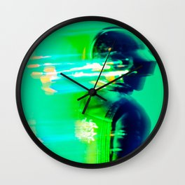 Beyond - (DAFT PUNK SERIES) Wall Clock