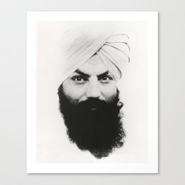Tratakam Canvas Print
