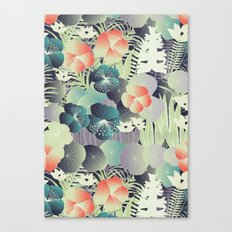 tropical mix Canvas Print