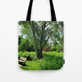 A Time for Silence Tote Bag