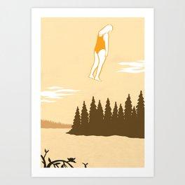 Humbert Humbert's Daydream Art Print