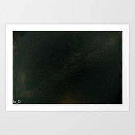 un mare di stelle Art Print