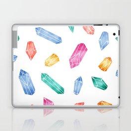 Crystals pattern - White2 Laptop & iPad Skin