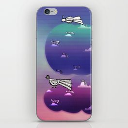 Migration to paradise iPhone Skin