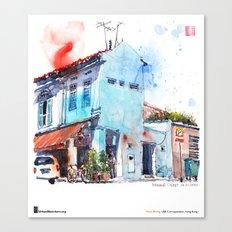 "Paul Wang, ""Pahang Street, Singapore"" Canvas Print"