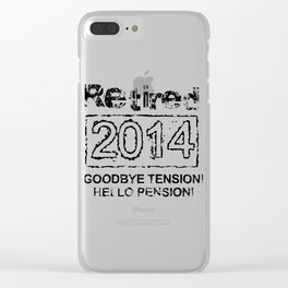 Retired 2014 Clear iPhone Case