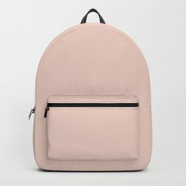 Pink Sand Pale Rose Gold Nude Backpack