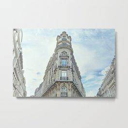 Haussmannian Buildings Paris Metal Print