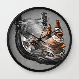 Urban Rhino Wall Clock