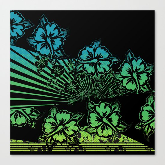 Hawaii Five-O Dark Canvas Print