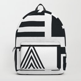 Adventure B&W Backpack