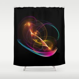 Zauberlampe Shower Curtain
