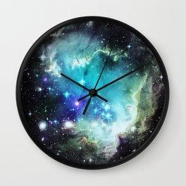 galaxy Aqua Wall Clock