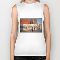 brooklyn Biker Tanks featuring Brooklyn by Phil Provencio