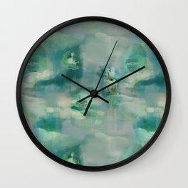 Ghostly Galleons by Katrina Ward Wall Clock