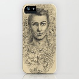 Ben Wisehart early sketch iPhone Case