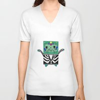 bmo V-neck T-shirts featuring BMO by Ilse Nonsense