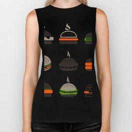 Hamburger2 Biker Tank