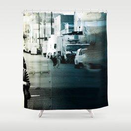 City Stripes Shower Curtain