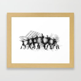 The Haka Framed Art Print