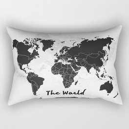The world -map Rectangular Pillow