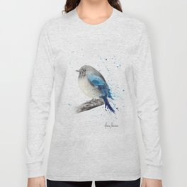 Round and Happy Bird Long Sleeve T-shirt