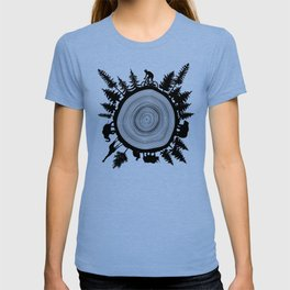 Into The Woods - Tree Ring T-shirt