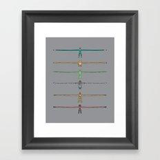 Aaaaaarms! Framed Art Print