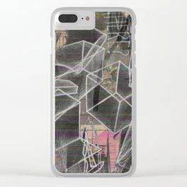 The Gilded Lining Clear iPhone Case