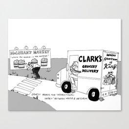 Richard Clark illustration from Streamlined ID textbook Canvas Print