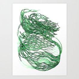 lettuce lattice Art Print