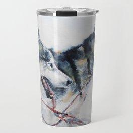 Huskies Travel Mug