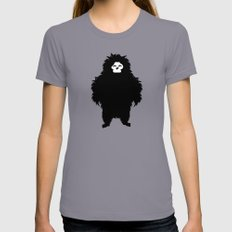 Sasquatch LARGE Womens Fitted Tee Slate