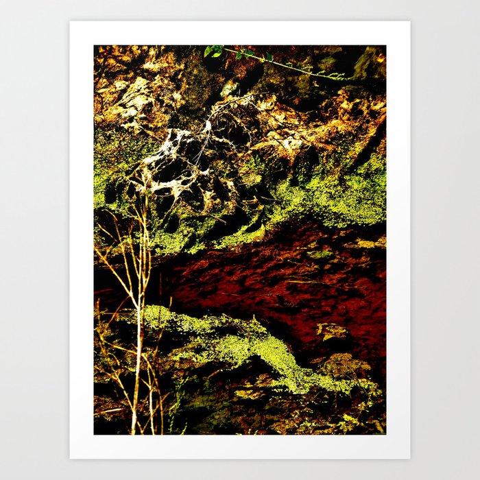 """Algae Canal Fallon"" Art Print"
