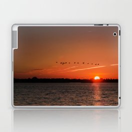 Flight Over the Sun Laptop & iPad Skin