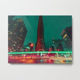 The Flatiron Metal Print