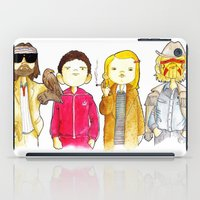 tenenbaum iPad Cases featuring Royal Tenenbaum bought the house on Archer Avenue in the winter of his 35th year by Space Bat designs