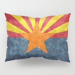 State flag of Arizona, the 48th state Pillow Sham