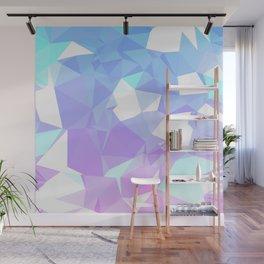Ice cream crystals Wall Mural