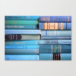 Shades of the Sea Canvas Print