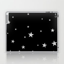 Silver Stars Laptop & iPad Skin