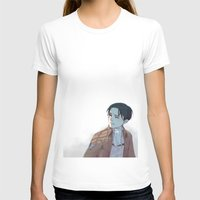 snk T-shirts featuring Levi by sushishishi